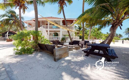 Belize Real Estate - Beachfront Home for Sale